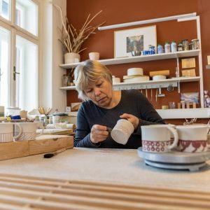 Brigitte Achatz - Werkstatt