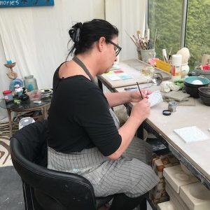 Ulrikes Atelier - Werkstatt